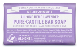 Dr Bronner's Lavender Bar Soap