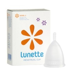 Lunette - Menstrual Cup Clear