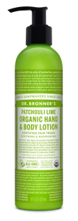 Dr Bronner's Patchouli Lime Organic Lotion