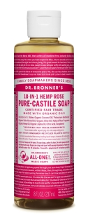 Dr Bronner's Rose Liquid Soap