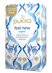 Pukka-Feel New (organic herbal tea)