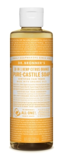 Dr Bronner's Citrus Liquid Soap
