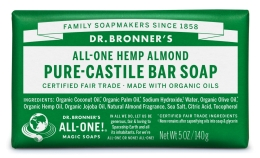 Dr Bronner's Almond Bar Soap