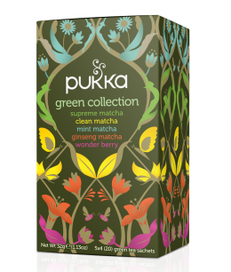 Pukka - Selecção de Chás Green Collection